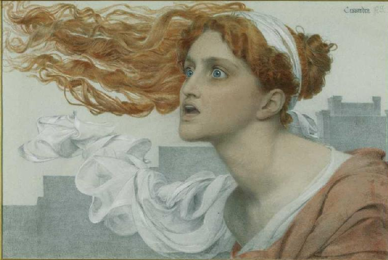 Cassandra by Anthony Frederick Sandys