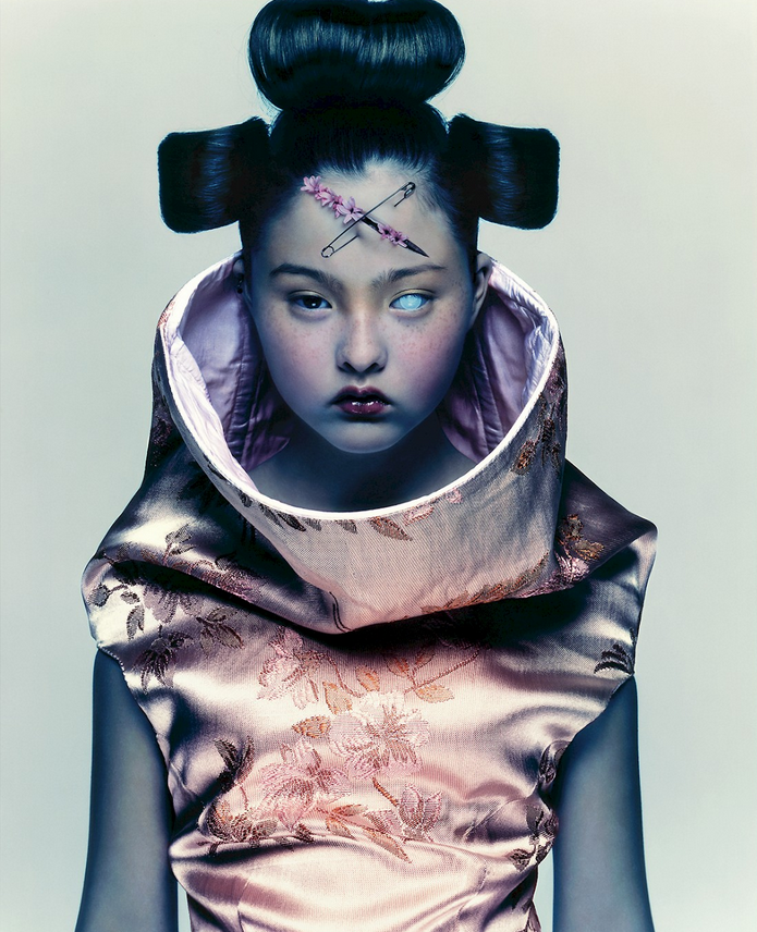 Devon Aoki in Alexander McQueen, photo Nick Knight