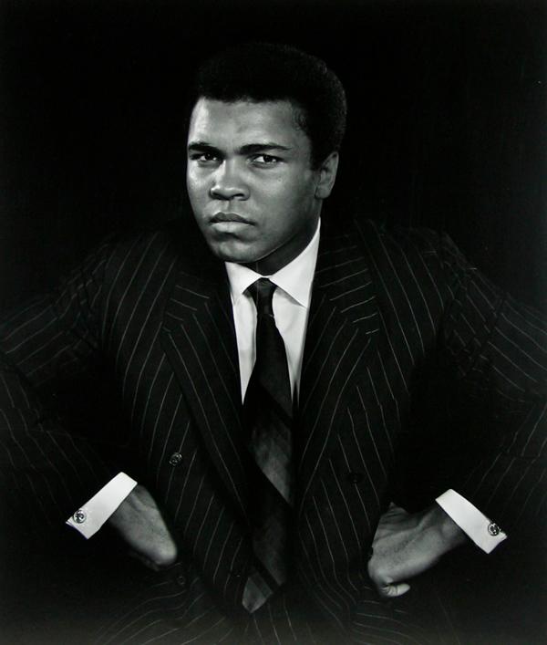 Muhammad Ali, by Yousuf Karsh