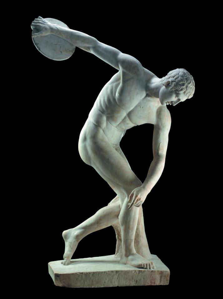 Discobolus by Polykleitos