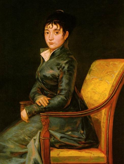Goya Dona Teresa Sureda c. 1805