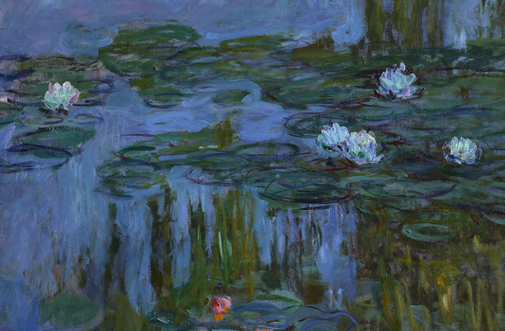 Claude Monet 'The Water Lilies - Tree Reflections'