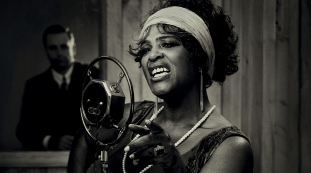 Ma Rainey played by Sharon D Clarke