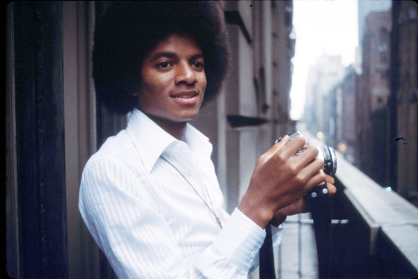 Michael Jackson in In New York City in 1977 Tom Keller - Getty Images