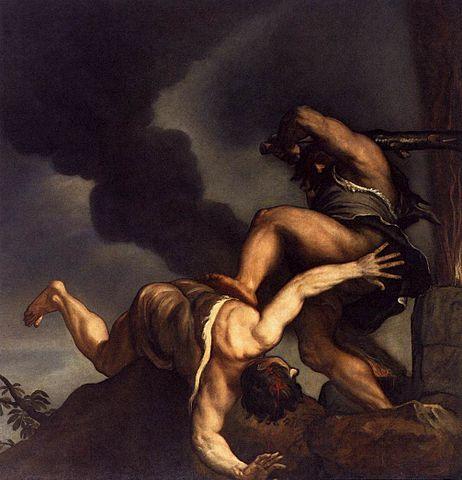 Titian's Cain and Abel/Santa Maria della Salute, Venice