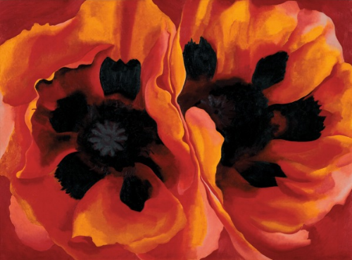 Oriental Poppies, 1927 - Georgia O'Keeffe