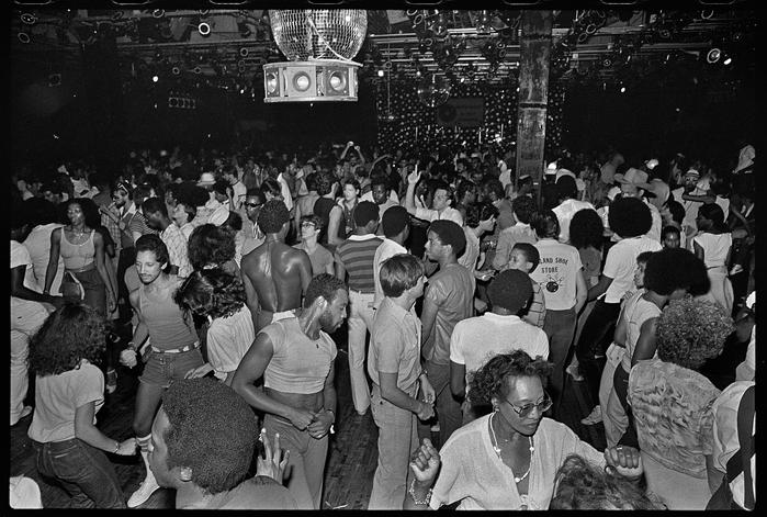 Paradise Garage Dance Floor