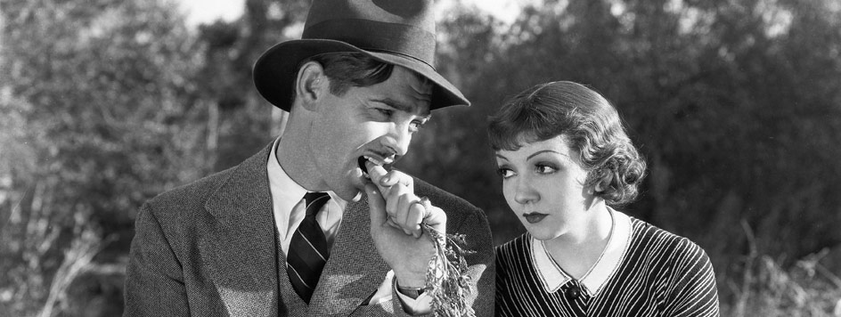 Scene from 'It Happened One Night'