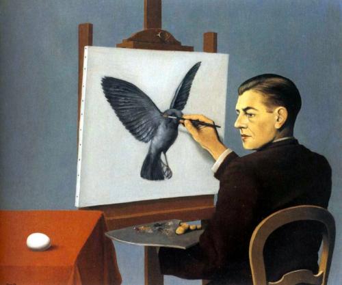 'La Clairvoyance'Rene Magritte