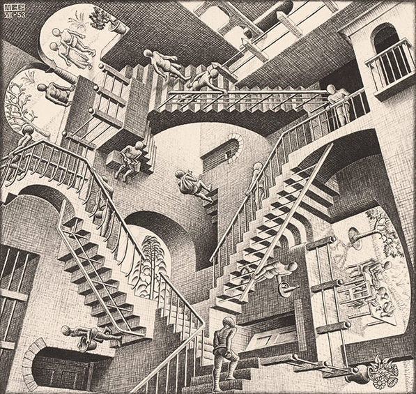 MC Escher, Relativity