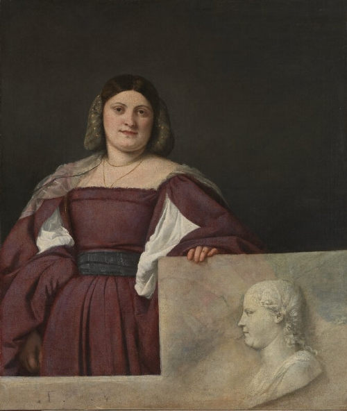 Titian, Portrait of a Lady