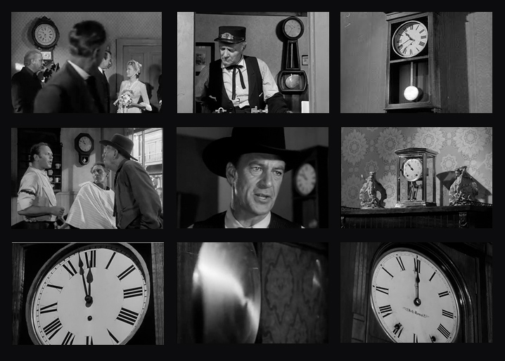 Collage courtesy: https://journalofseeing.wordpress.com/2011/11/01/high-noon-clocks/