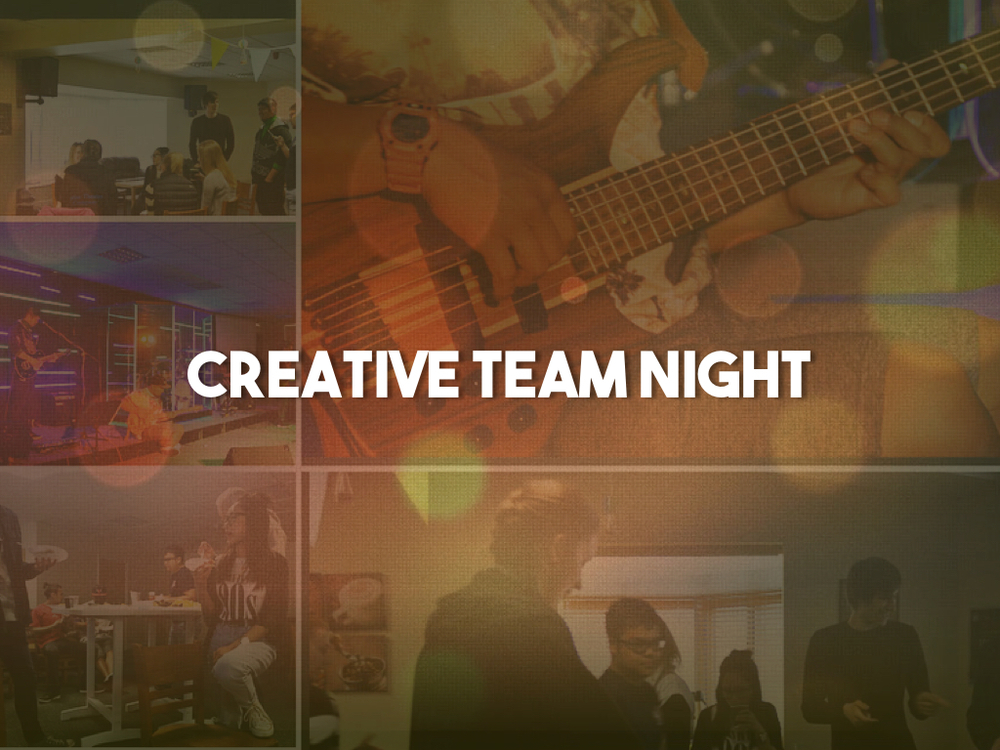 Creative Team Nights are when our worship and production teams come together to rehearse and encourage one another. If you are interested in joining team, click here.