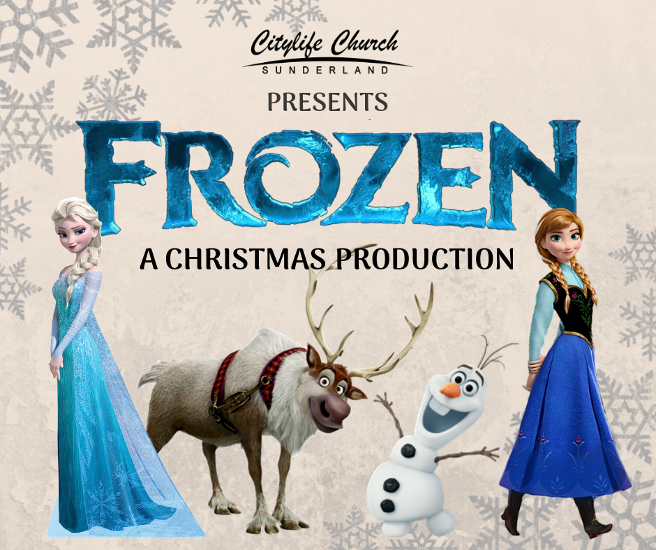 A Christmas Production - This year, we are doing the Frozen production here in Sunderland.