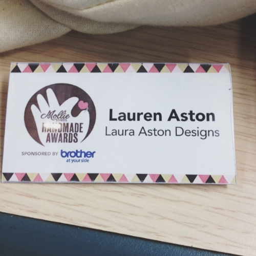 I'd like to speak to the person who printed the badges please….It seems theres been a mistake.