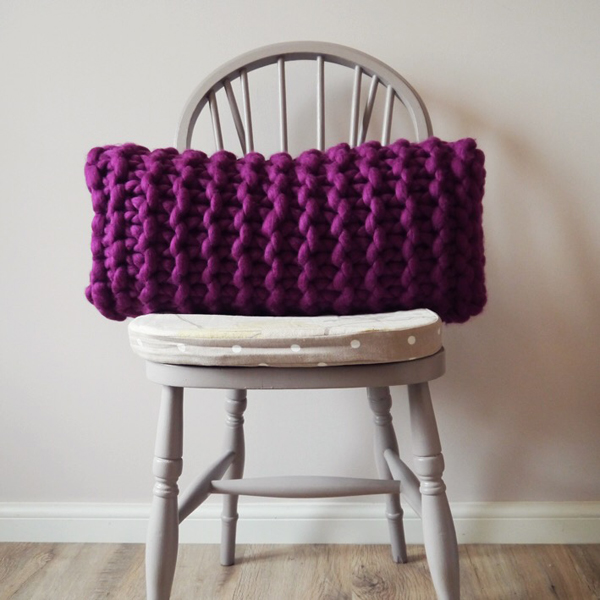 Damson Rectangular cushion