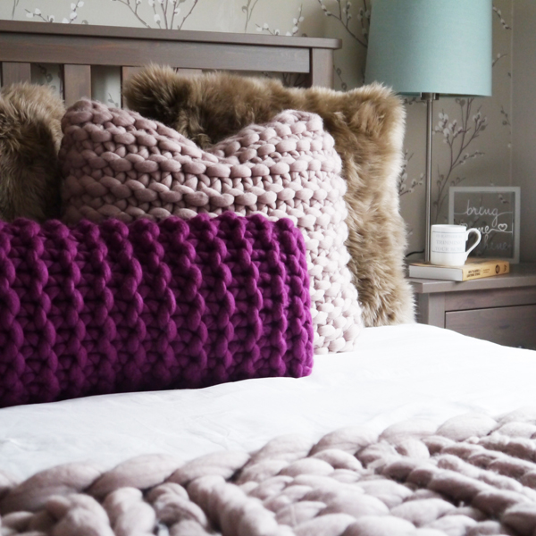Lauren Aston Designs Merino Cushion