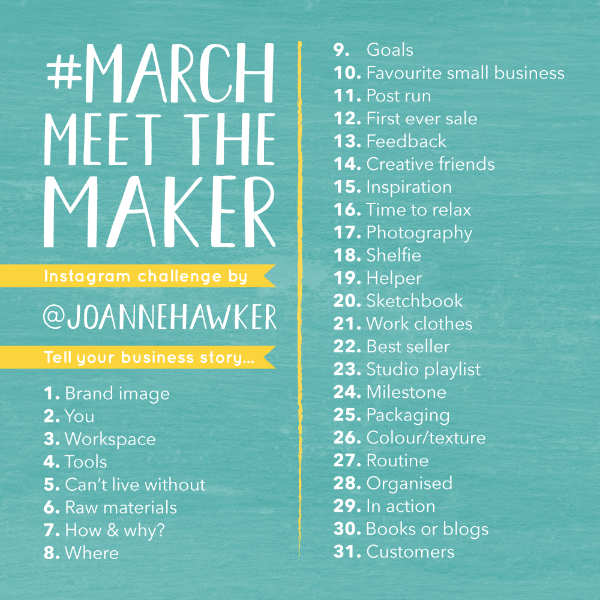 Joanne Hawker Meet the Maker