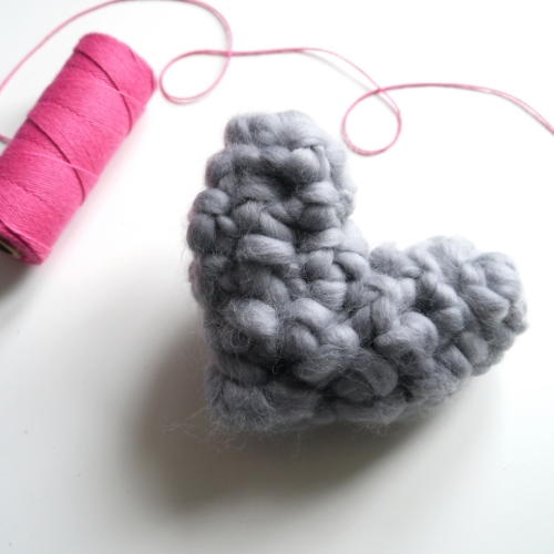Free Crochet Heart Patter