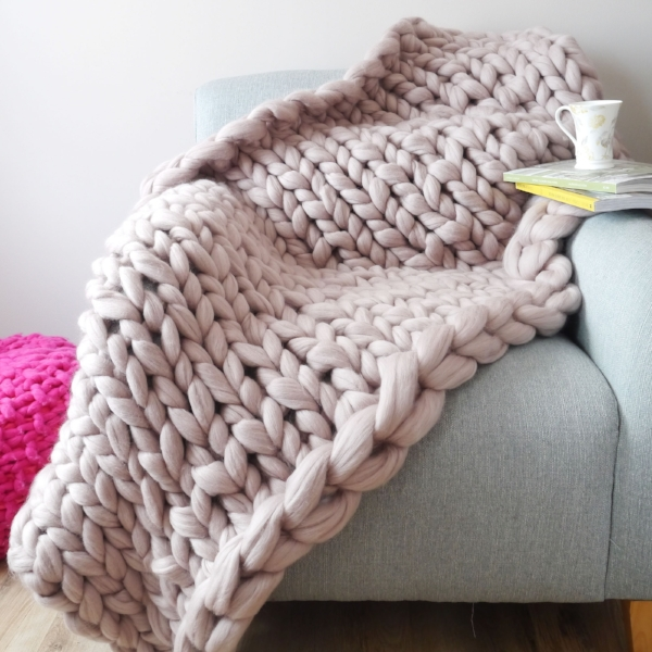 Lauren Aston Super Chunky Blanket