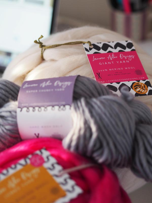 Lauren Aston Designs Yarn