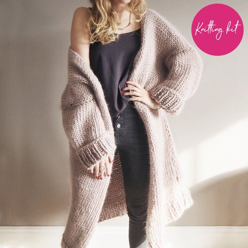 42e1bdc4283 Knit Kit - Dreamy Oversized Cardigan