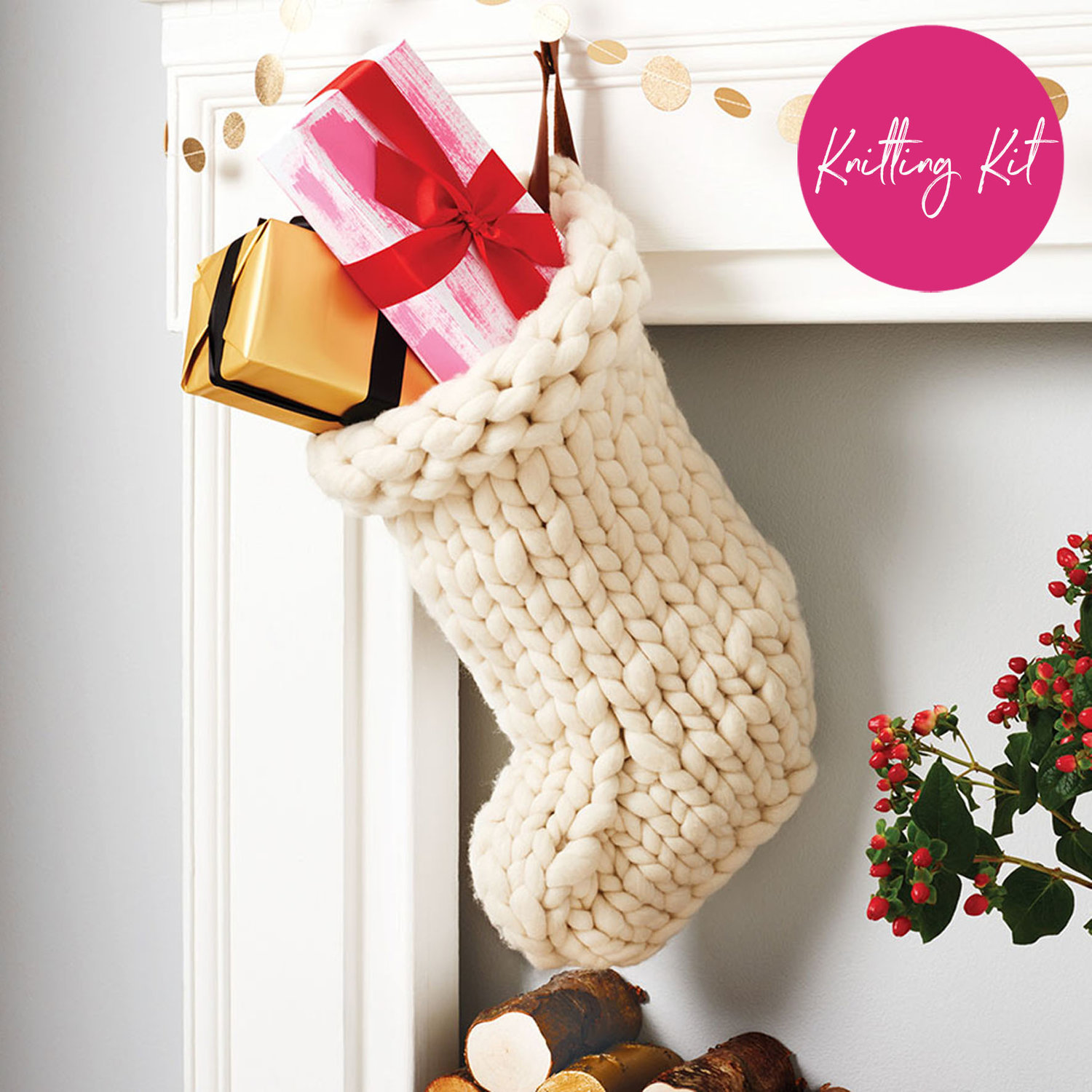 Christmas Stocking Kit.Jumbo Christmas Stocking Kit Small