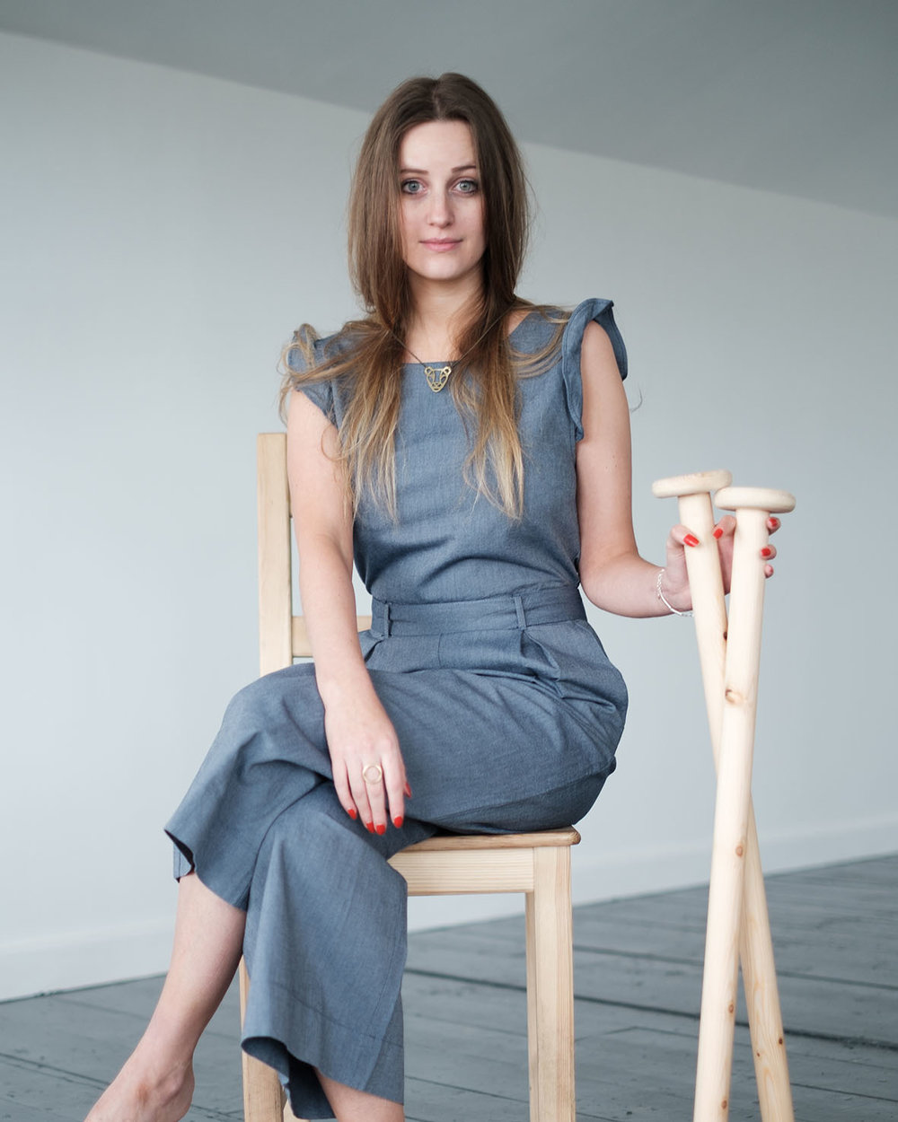 One of the shots of me from the IWD shoot photo by Harry Cooke, Jumpsuit borrowed from Sanchos and needles LAD's own :p