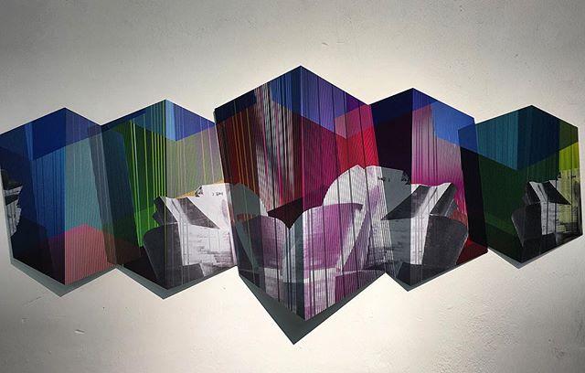 "👨🏼🎨""BILBAO""🏞 en honor al Guggenheim Museum Bilbao designed by Canadian-American architect Frank Gehry #frankgehry @museoguggenheim @guggenheim @galeriakreisler #gerstlart #gerstl #poesiageometrica  #geometricpoetry"