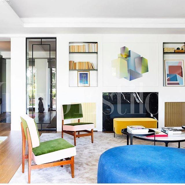🕴🏻Super casa 🥇@gerstlart and @galansobrini_arquitectos  gracias por este proyecto 🤘🏼y por los que vienen !!! #geometricpoetry #poesiageometrica #gerstl #gerstlart #arco #arcomadrid #arquitectura #orianagutierrez