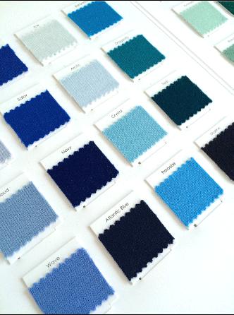 Blue colour card