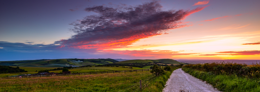 Sussex Downs Sunset 2.jpg