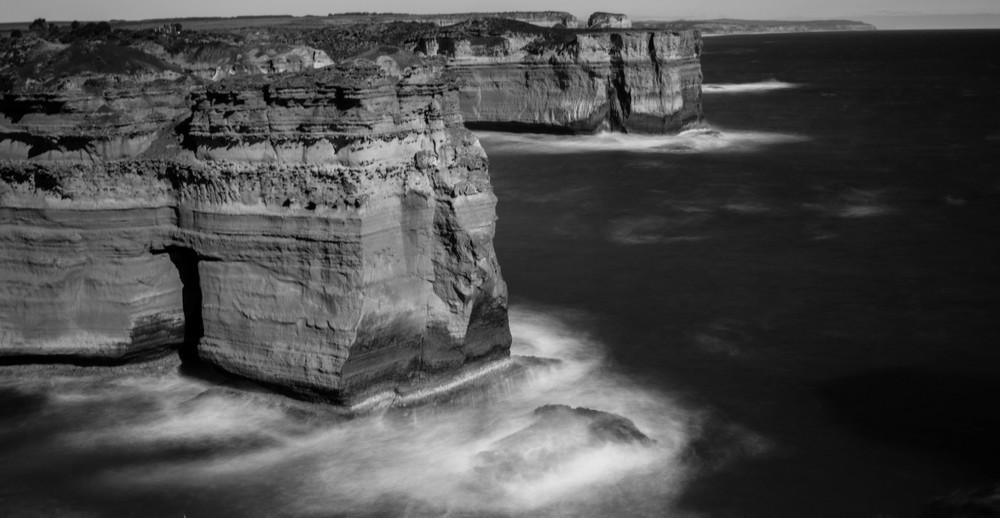 Australia Seascape B&W.jpg