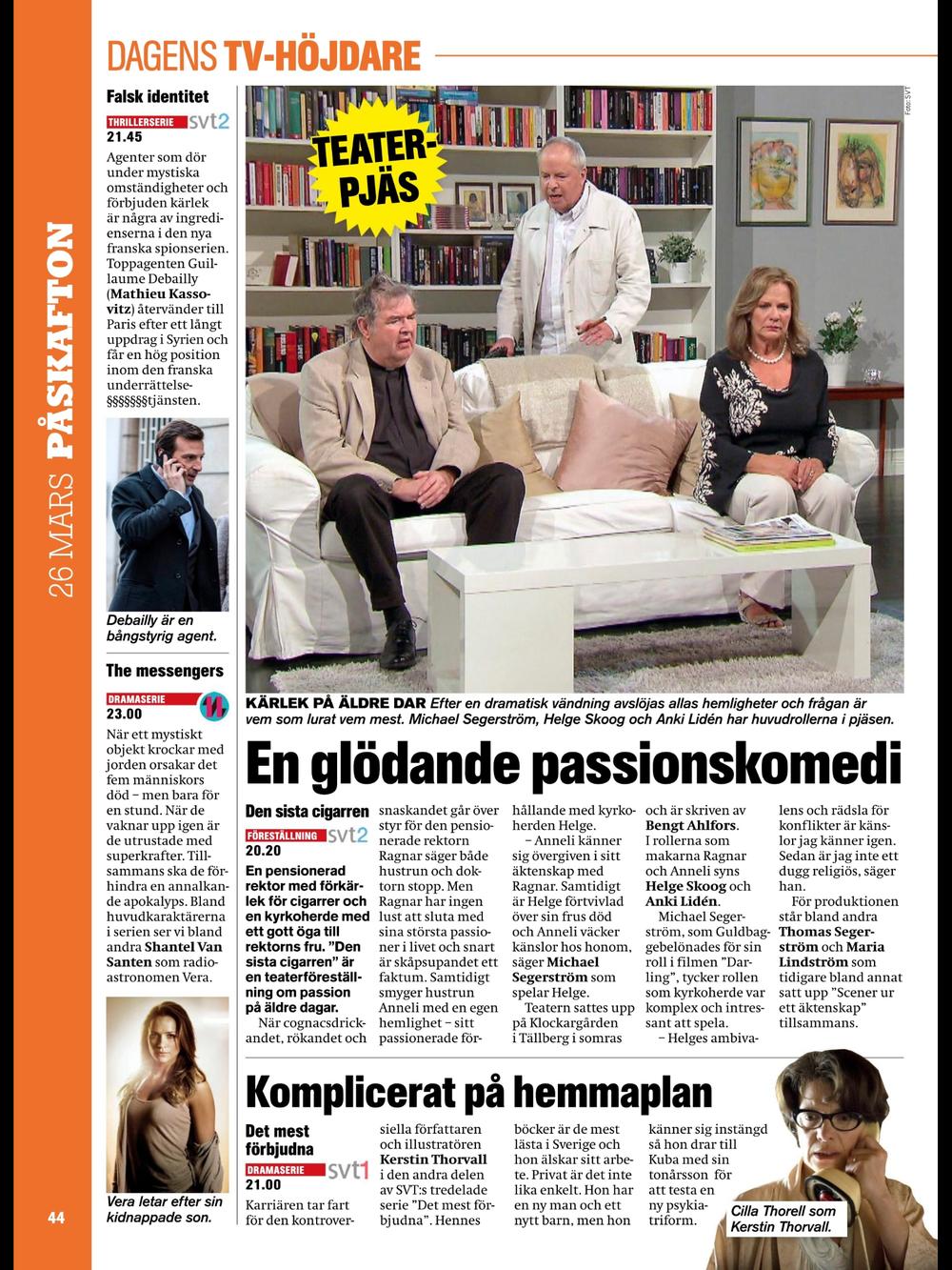Sida ur Expressens TV-bilaga vecka 12