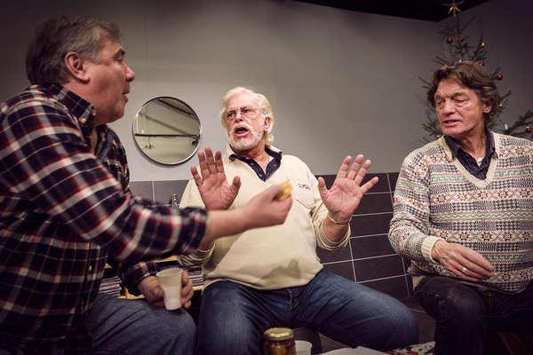 Göran Forsmark,Ulf Brunnberg och Johannes Brost