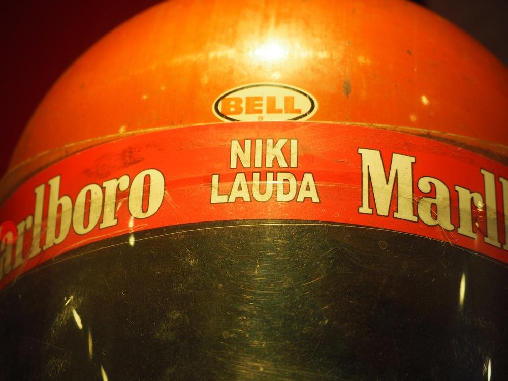 Niki Lauda Helmet