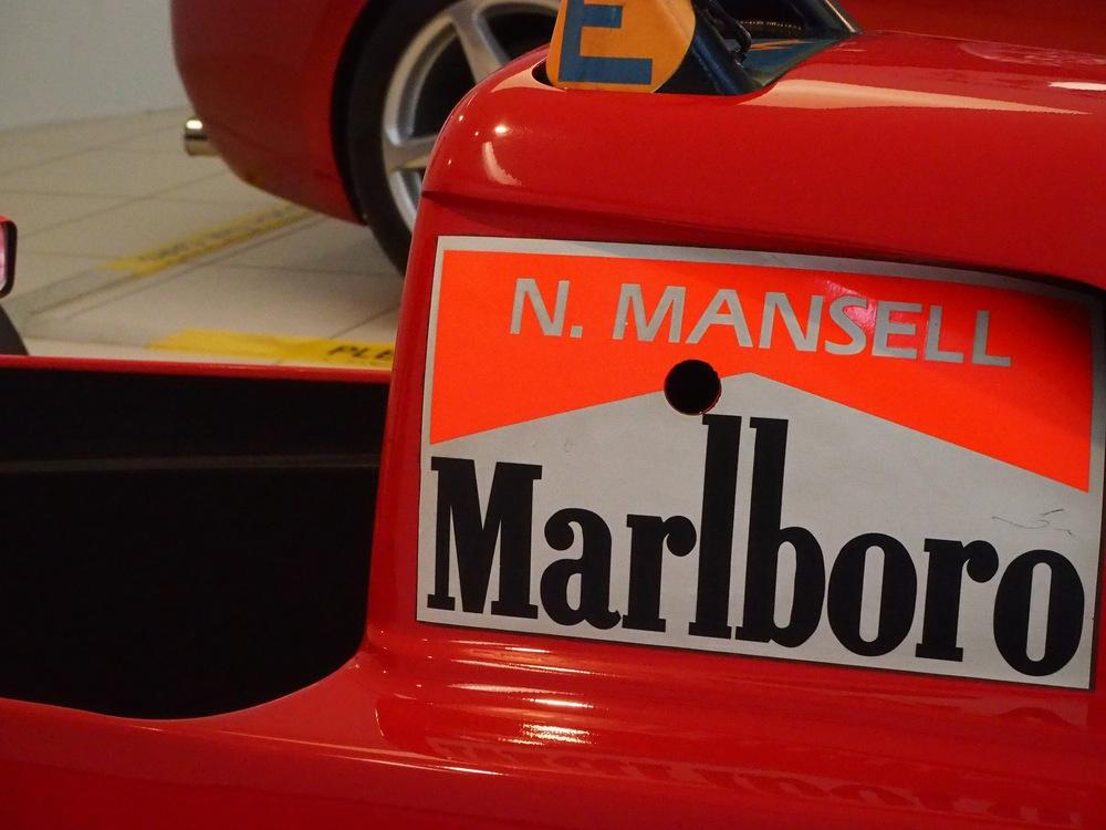 Nigel Mansell Ferrari
