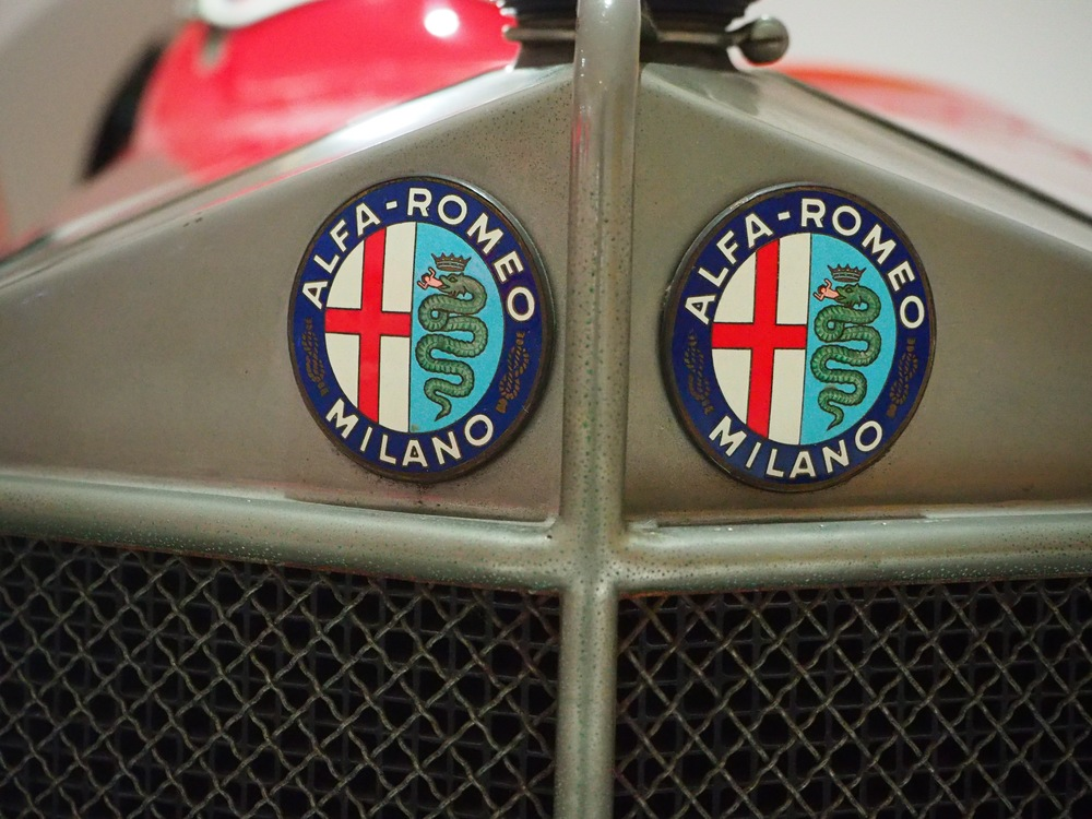 Enzo's Alfa Romeo