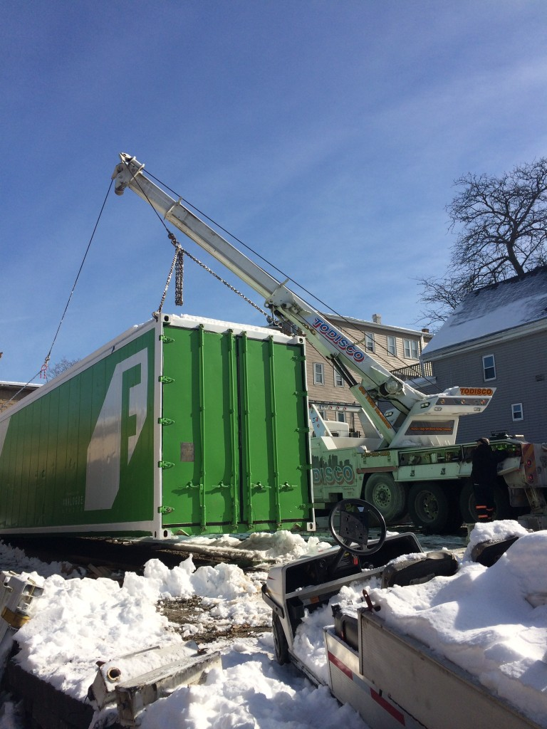 Shipping Container Move