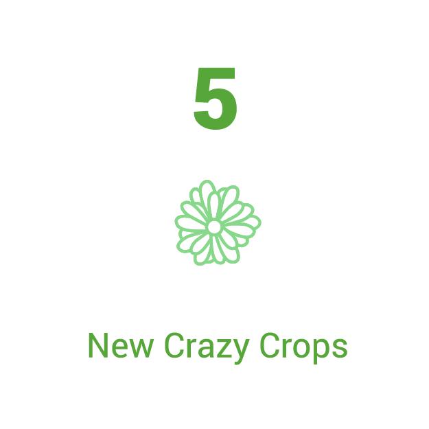 New Crazy Crops