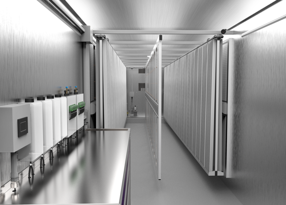 Freight Farms_Greenery Customization Spacing