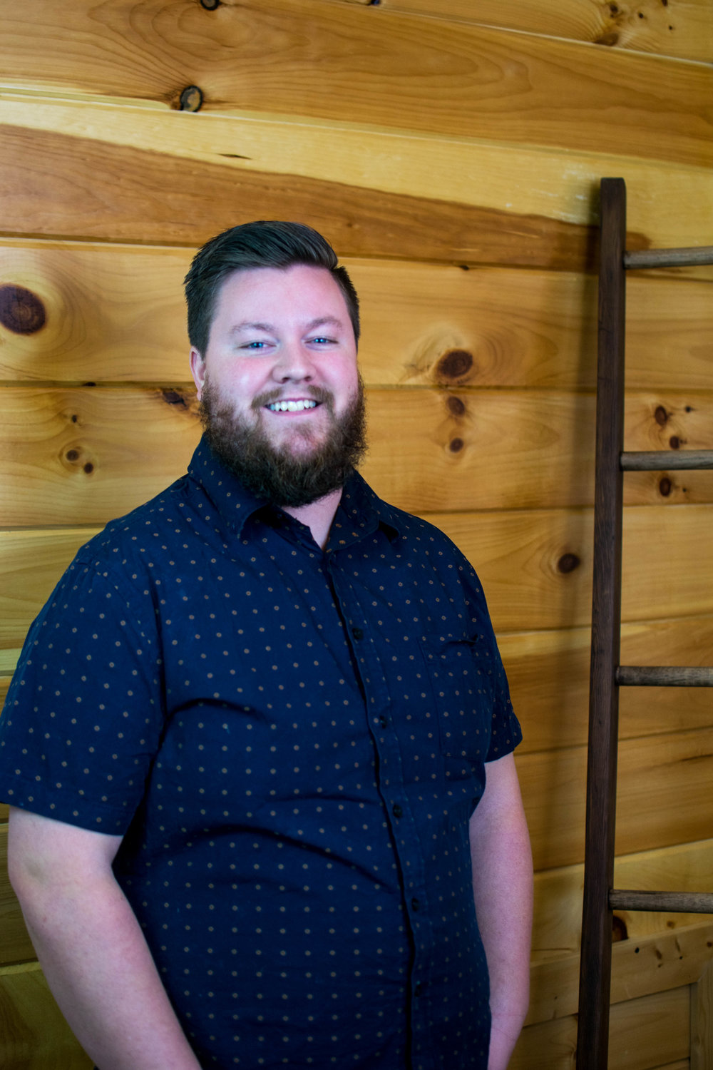 Taylor Wells, Student Minister    What he does for NT:  Taylor leads students in 6th-12th grade, with the help of a great group of volunteers. He loves to walk with the students in their faith journey and lead them into a lasting relationship with Jesus.  His Family:He has been married to his wife, Brooke, since June 2016.   In His Spare Time: Taylor loves to read, write, drink coffee, and play disc golf! He and Brooke also operate WellMade Goods, which is their business of leather goods and art!   His Favorite Bible Verse: Taylor's favorite Scripture is Matthew 22:37-40, which he attempts to live out everyday.