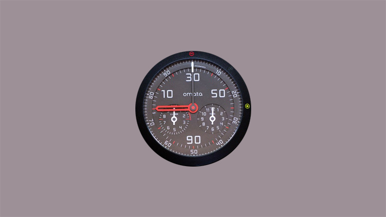 Omata One - Analog GPS Speedometer