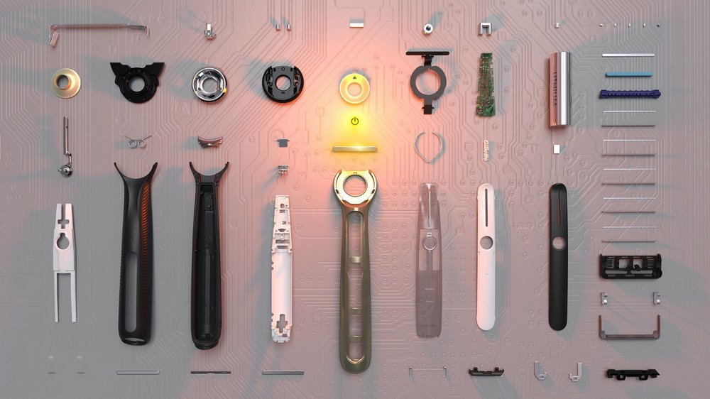 Gillette tested their 'Heated Razor' innovation on Indiegogo, successfully validating their product