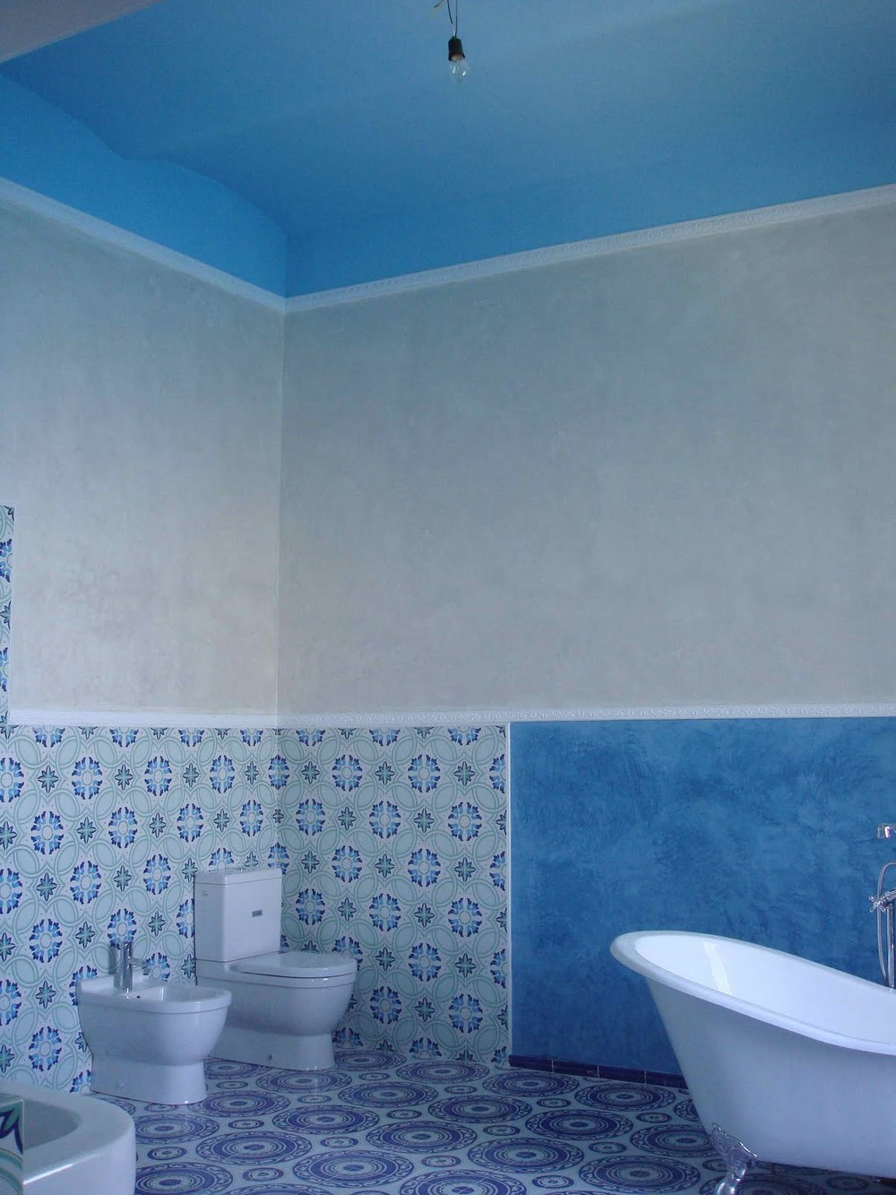 Bathroom Tiles Blue Colour - talentneeds.com -