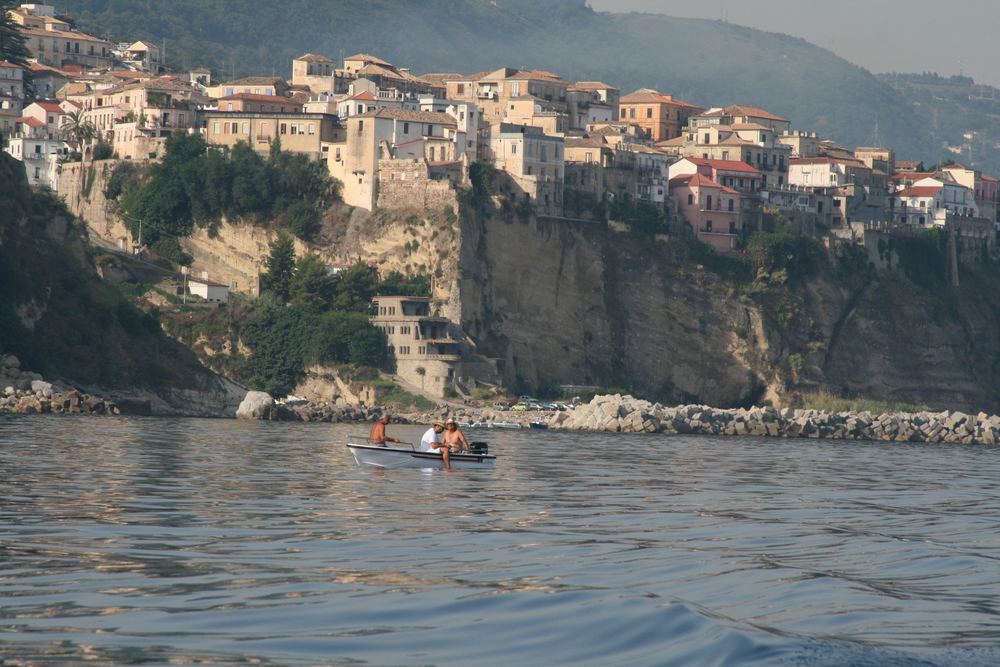 Pizzo from the sea