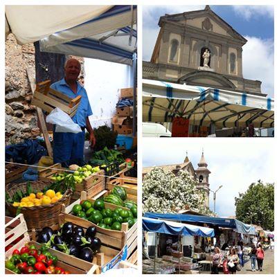 Market in Vibo Valentia