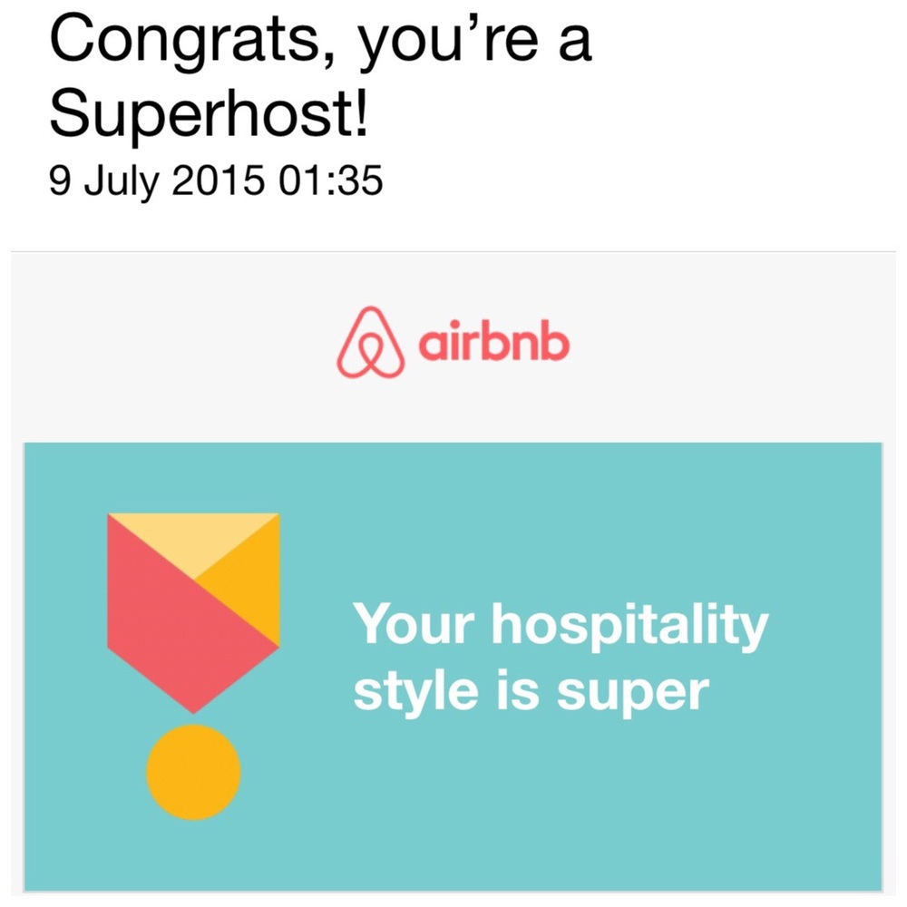 Palazzo Pizzo Residence has earned superhost status with Airbnb