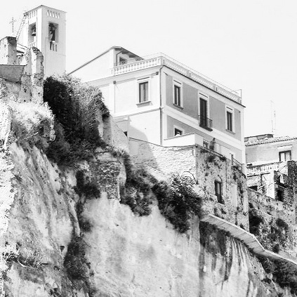 the palazzo on the cliff