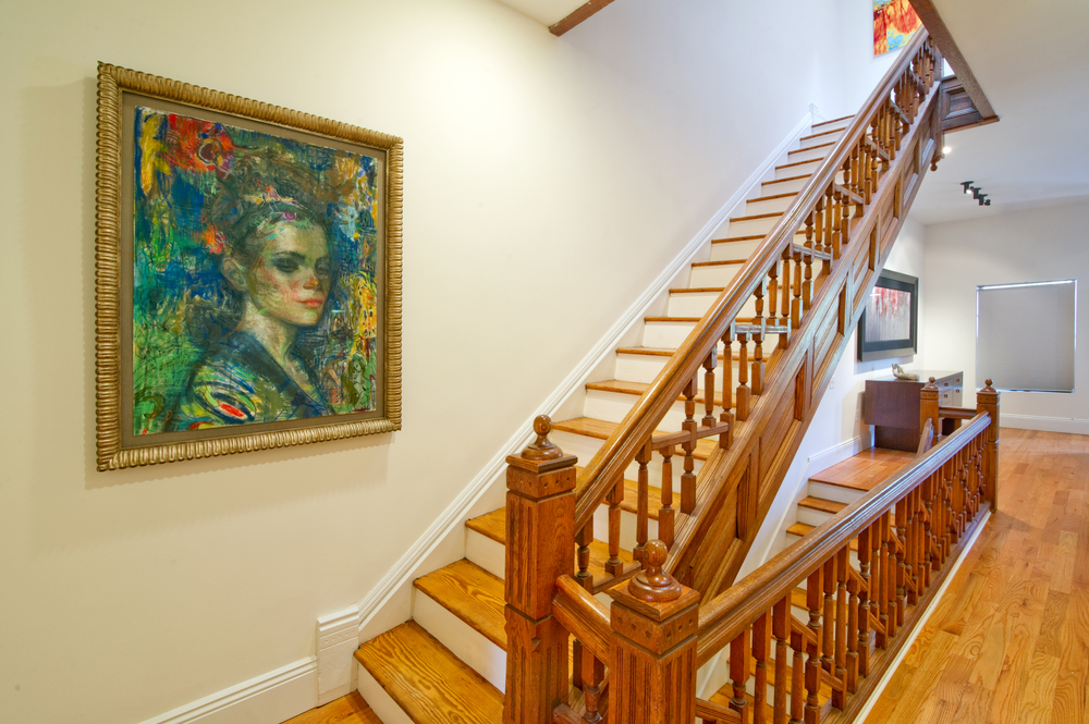 O Street NW13 - Stair Hallway with Art.jpg
